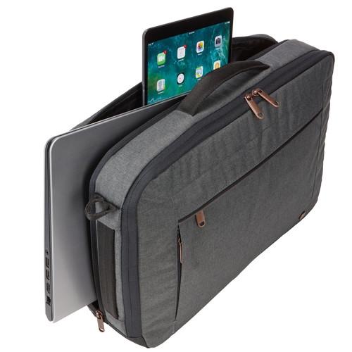 "Geanta laptop 15.6\'\' Case Logic Era,convertibila in rucsac, black, ""ERACV-116 OBSIDIAN/3203698"" 3"