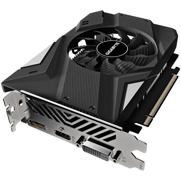 GIGABYTE Video Card NVidia GeForce GTX 1650 SUPER OC GDDR6 4GB/128bit, 1725MHz/12000MHz, PCI-E 3.0 x16, HDMI, DP, DVI-D,  1X Cooler (Double Slot), Retail 1