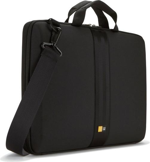 """HUSA CASE LOGIC notebook 16"""", spuma Eva, 1 compartiment, manere, curea detasabila, black, """"QNS116K""""/3201244 0"""