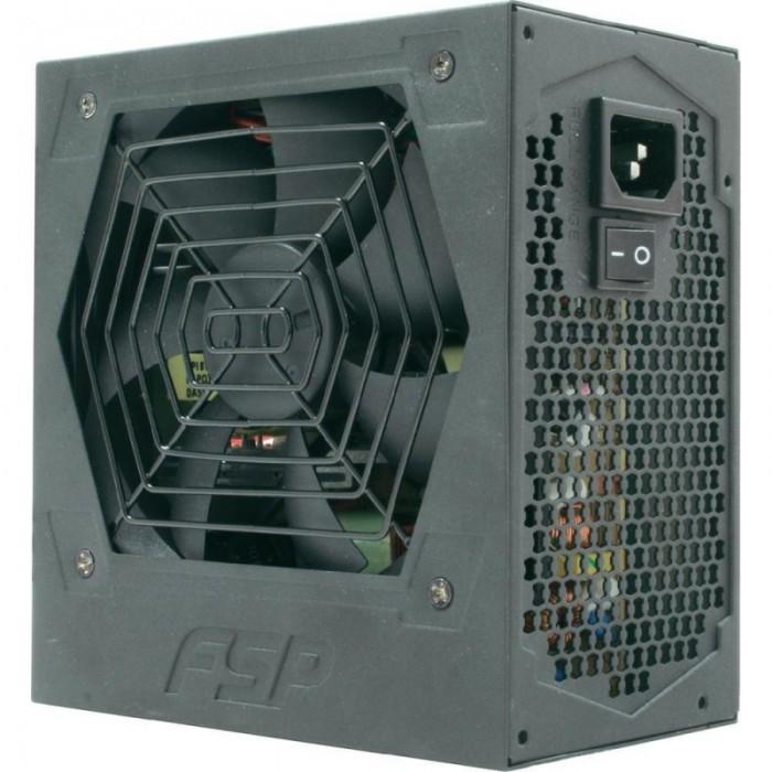 SURSA  FORTRON HEXA+, 500W real (max. 550W), fan 12cm, 80+ eficienta, fully sleeved, 1x CPU 4+4, 2x PCI-E 6+2), 5x SATA  0