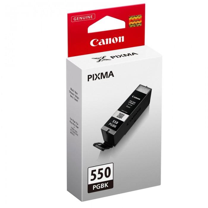 Cartus cerneala Original Canon PGI-550 Negru, compatibil IP7250/MG5450/MG6350, 375 pag  0