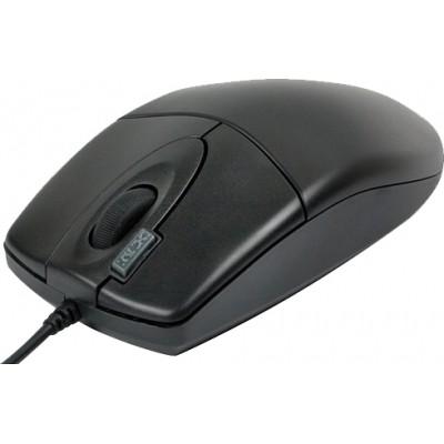 Mouse optic USB A4TECH Black , wired cu 3 butoane (buton 2xClick) si 1 rotita scroll, rezolutie sub 1000dpi 0