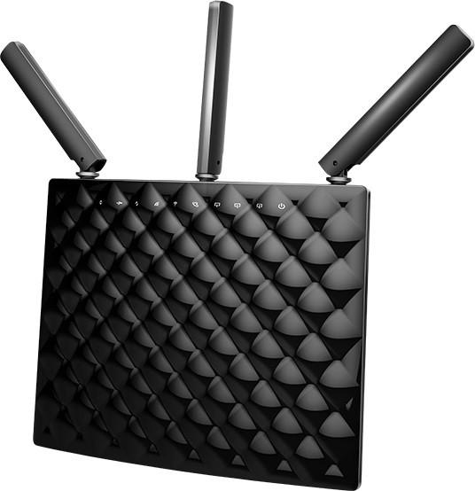 Router 3 Port-uri Wireless. AC 1900Mbps Dual-Band, Gigabit, 3 antene, TENDA  0