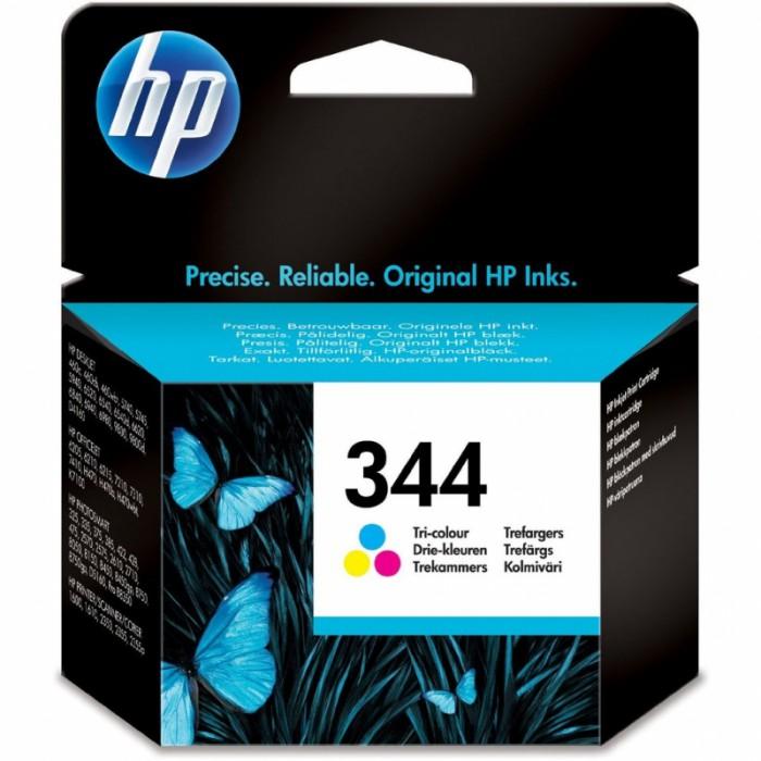 Cartus cerneala Original HP Tri-color 344 w.Vivera ink, compatibil DJ460C/5740/574x/65xx/PSC1600/1610/2350/2610, 14ml, 450pag  0