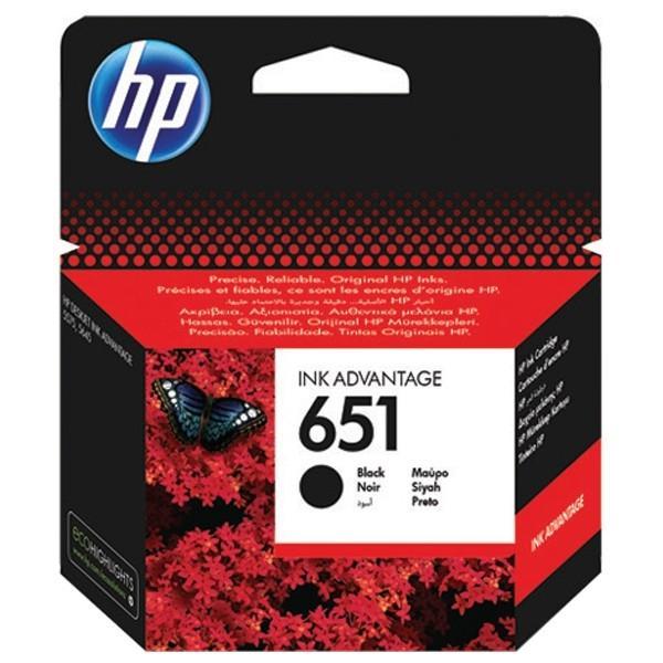 Cartus cerneala Original HP C2P10AE Black 651  0