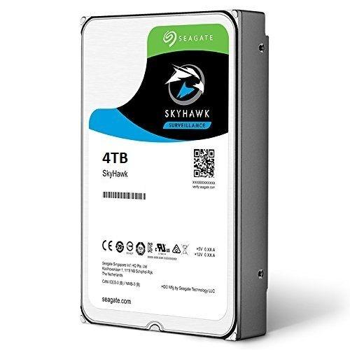 """HDD 4TB 5900 64M S-ATA3 """"SkyHawk"""" SEAGATE  0"""