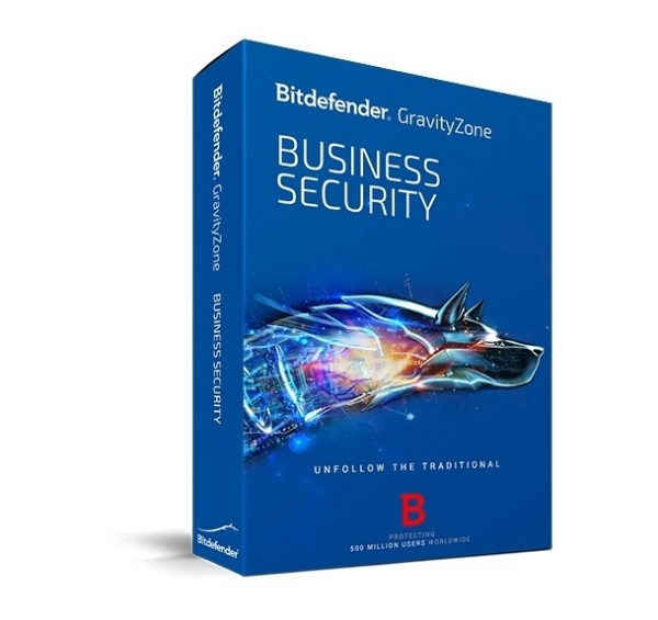 Licenta Securitate business Antivirus Bitdefender GravityZone Business Security, 5 useri, 1 an, electronic 0