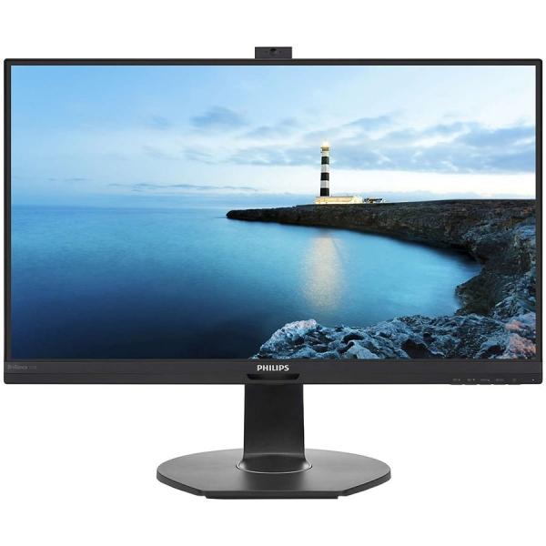 Monitor LED Philips 272B7QPTKEB/00, B-line, 27\'\' 2560x1440@60Hz, 16:9, IPS, 5ms, 350nits, Speakers 2W, Black, 3 Years, VESA100x100/VGA/HDMI/DP IN+DP OUT+mini DP/USB 3.0 0