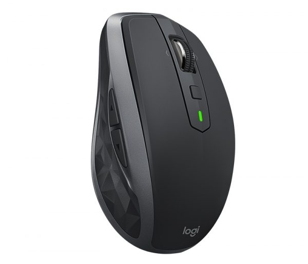 "MOUSE LOGITECH wireless laser, 4000dpi, 7 butoane, 1 rotita scroll, ""MX Anywhere 2S"", graphite, ""910-005153"" (include timbru verde 0.1 lei) 2"