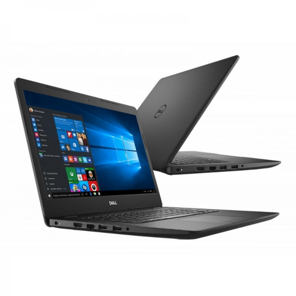 Notebook / Laptop Dell Vostro 3480 Intel Core Whiskey Lake (8th Gen) i5-8265U 256GB SSD 8GB Win10 Pro FullHD Black 6