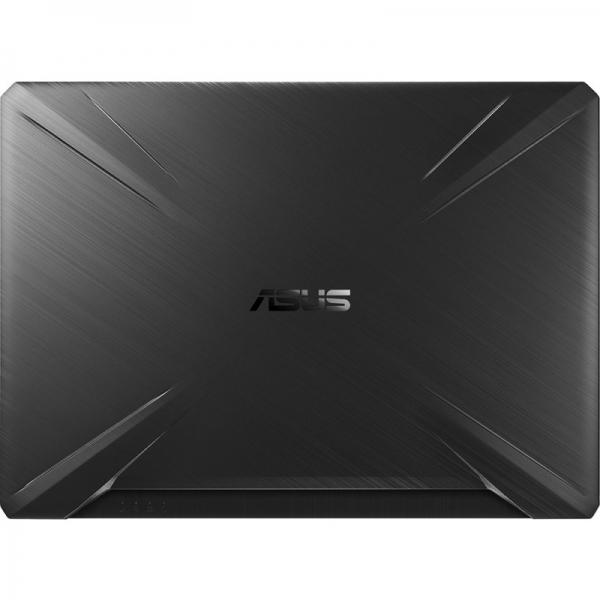Notebook / Laptop ASUS Gaming 15.6'' TUF FX505DV, FHD, Procesor Ryzen™ 7 3750H (4M+2M Cache, up to 4.0 GHz), 8GB DDR4, 512GB SSD, GeForce RTX 2060 6GB, No OS, Stealth Black 1