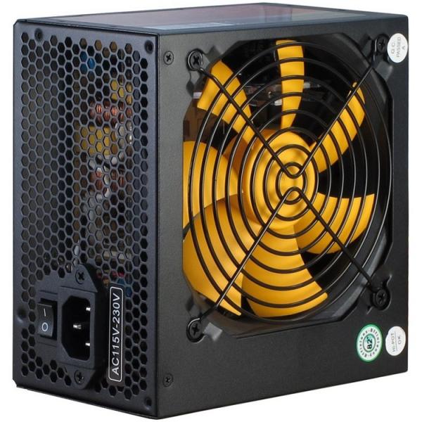 Power Supply INTER-TECH Argus APS 720W, efficiency 89.1%, dual rail (30A/30A),  120 mm silent fan with automatic control, 2x6+2pinPCIE, 4xSATA, 4xMolex, 1xFloppy, 1x4+4pinEPS12V, Active PFC, OVP/SCP/O 0