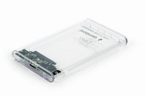 "RACK EXTERN GEMBIRD 2.5"" HDD S-ATA to USB 3.0, Plastic, transparent,  ""EE2-U3S9-6"" 0"