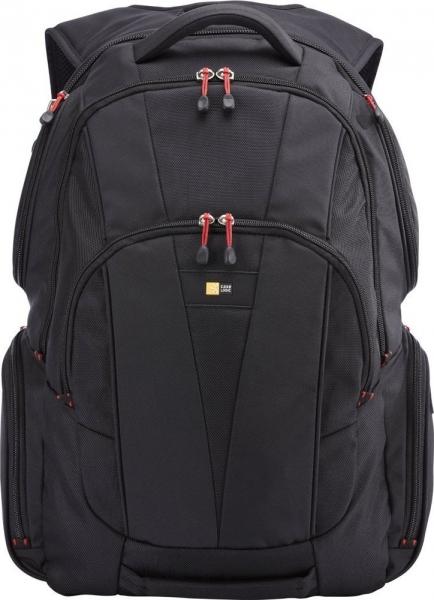"""RUCSAC CASE LOGIC notebook 15.6"""", poliester, 2 compartimente, buzunar interior tableta, buzunar frontal, 4 buzunare laterale, orificiu acces casti, buzunar dorsal ascuns, black, """"BEBP215"""" 3201673 0"""