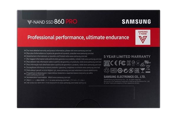 """SAMSUNG 860 Pro 2TB SSD, 2.5"""" 7mm, SATA 6Gb/s, Read/Write: 560 / 530 MB/s, Random Read/Write IOPS 100K/90K 2"""
