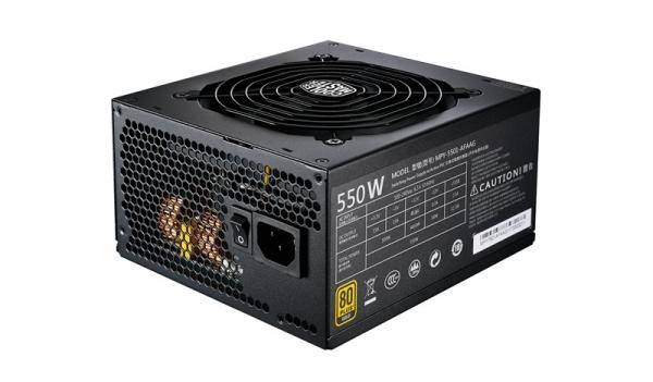 "SURSA COOLER MASTER  550W (real), MWE Gold 550, fan 120mm, 80 Plus Gold, 2x PCI-E (6+2), 8x S-ATA, modulara ""MPY-5501-AFAAG-EU"" 0"
