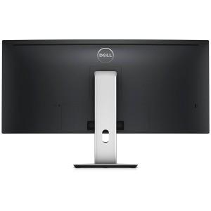 """Monitor LED DELL UltraSharp U3415W 34"""" Curved, 3440x1440, 21:9, AH-IPS, 1000:1, 178/172, 6ms, 300cd/m2, VESA, DisplayPort, Mini DisplayPort, HDMI, USB HUB, Height Adjustable, Pivot, Speakers, Black """"U1"""