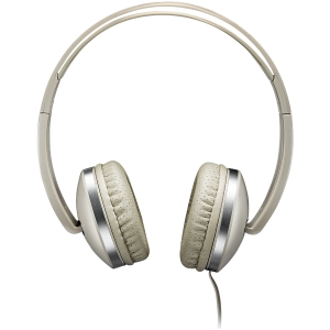 CANYON Stereo headphone with microphone and switch of answer/end phone call, cable 1.2M, Beige2