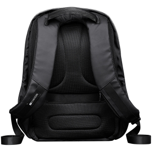 "Backpack for 15.6"" laptop, material 900D glued polyester and 600D polyester, black, USB cable length0.6M, 400x210x480mm, 1kg,capacity 20L3"