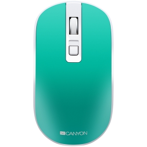 2.4GHz Wireless Rechargeable Mouse with Pixart sensor, 4keys, Silent switch for right/left keys,DPI: 800/1200/1600, Max. usage 50 hours for one time full charged, 300mAh Li-poly battery,, Aquamarine, 0
