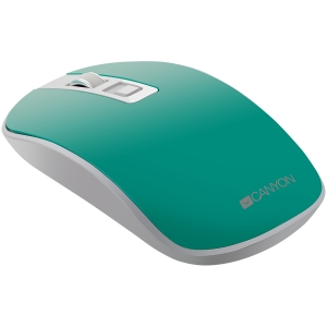 2.4GHz Wireless Rechargeable Mouse with Pixart sensor, 4keys, Silent switch for right/left keys,DPI: 800/1200/1600, Max. usage 50 hours for one time full charged, 300mAh Li-poly battery,, Aquamarine, 2