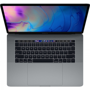 Notebook / Laptop Apple 15.4'' The New MacBook Pro 15 Retina with Touch Bar, Coffee Lake 8-core i9 2.3GHz, 16GB DDR4, 512GB SSD, Radeon Pro 560X 4GB, Mac OS Mojave, Space Grey, INT keyboard1
