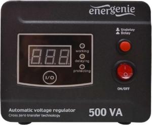 "AVR  500VA, 1 x Schuko socket, sinusoida pura, GEMBIRD ""EG-AVR-D500-01"" (include timbru verde 3 lei)0"