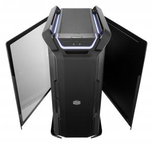 "CARCASA COOLER MASTER. Full-Tower E-ATX, Cosmos  C700P, tempered glass, 3* 140mm fan (inclus), I/O panel, RGB controller & RGB LED strips, black ""MCC-C700P-KG5N-S00""2"