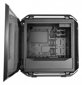"CARCASA COOLER MASTER. Full-Tower E-ATX, Cosmos  C700P, tempered glass, 3* 140mm fan (inclus), I/O panel, RGB controller & RGB LED strips, black ""MCC-C700P-KG5N-S00""5"