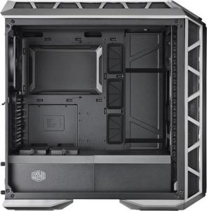 "CARCASA COOLER MASTER Middle-Tower E-ATX, MasterCase. H500P MESH, tempered glass, 2* 200mm RGB fan (incluse), I/O panel, gun metal ""MCM-H500P-MGNN-S10""0"