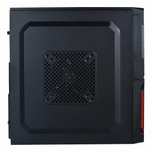 "CARCASA SPACER  Mini-Tower ATX, fara sursa, Pr1m3, 1*80mm & 1* 120mm fan instalate, I/O panel, Black&Red ""SP-GC-03""3"