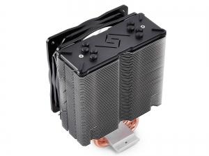 """COOLER DeepCool CPU universal, soc LGA20xx/1366/115x & AMx/FMx, Al+Cu, 4x heatpipe, 150W, RGB LED """"GAMMAXX GTE""""4"""