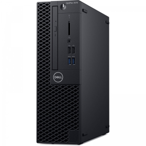 Desktop Dell OptiPlex 3070 SFF Intel Core Coffee Lake (9th Gen) i5-9500 256GB SSD 8GB Win10 Pro Tastatura + Mouse Black1