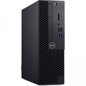 Desktop Dell OptiPlex 3070 SFF Intel Core Coffee Lake (9th Gen) i5-9500 256GB SSD 8GB Win10 Pro Tastatura + Mouse Black3