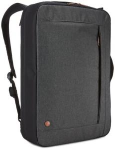 "Geanta laptop 15.6\'\' Case Logic Era,convertibila in rucsac, black, ""ERACV-116 OBSIDIAN/3203698""1"