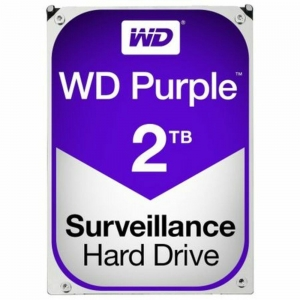 """HDD 2TB PURPLE  64MB S-ATA3 """"2PURZ"""" WD SURVEILLANCE """"WD20PURZ""""0"""