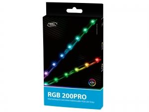 "LED strip DeepCool ADD RGB, COLOR light strip, 3 culori, atasare cu magnet sau dublu-adeziv, 550mm ""RGB 200PRO""2"