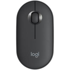 LOGITECH Pebble M350 Wireless Mouse - GRAPHITE - 2.4GHZ/BT - EMEA - CLOSED BOX0