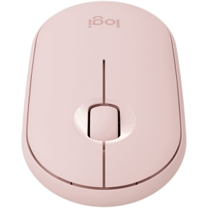 LOGITECH Pebble M350 Wireless Mouse - ROSE - 2.4GHZ/BT - EMEA - CLOSED BOX0