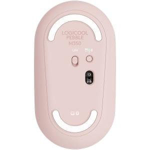 LOGITECH Pebble M350 Wireless Mouse - ROSE - 2.4GHZ/BT - EMEA - CLOSED BOX2