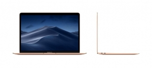 Laptop Apple 13.3'' New MacBook Air 13 with Retina display, Amber Lake Y i5 1.6GHz, 8GB, 128GB SSD, GMA UHD 617, MacOS Mojave, Gold, INT keyboard3