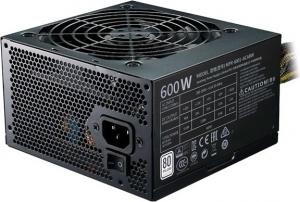 "SURSA COOLER MASTER  MasterWatt Lite, 600W (real), silent HDB fan 120mm, 85% eficienta, 2x PCI-E (6+2), 6x S-ATA ""MPX-6001-ACABW-EU""0"