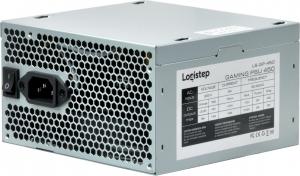 "SURSA LogiStep 450, 250W pt. 450W desktop PC, Gaming PSU 450, 120mm fan, 1x PCI-E (6), 4x S-ATA ""LS-GP-450""3"