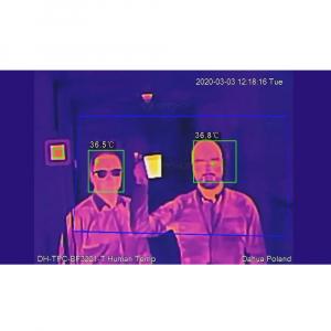 Kit pentru masurarea temperaturii umane Dahua: camera termala, scaner de precizie, smart NVR, licenta ProBase2