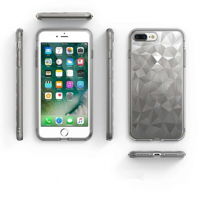 Husa iPhone Diamond Gri 2