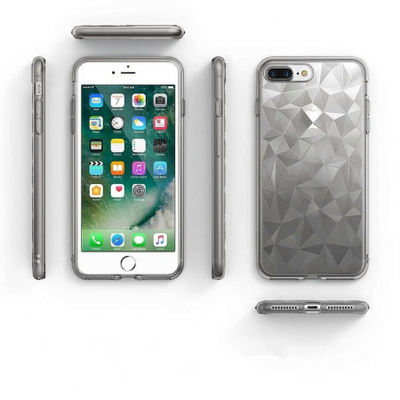 Husa iPhone Diamond Gri2