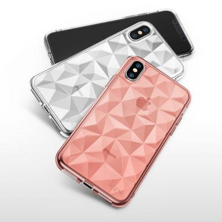 Husa iPhone Diamond Roz