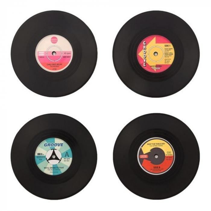 Coasters Vinyl Retro 1