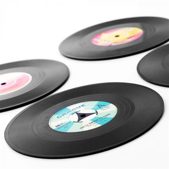 Coasters Vinyl Retro 2