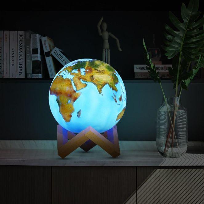 Lampa Glob 3D 0